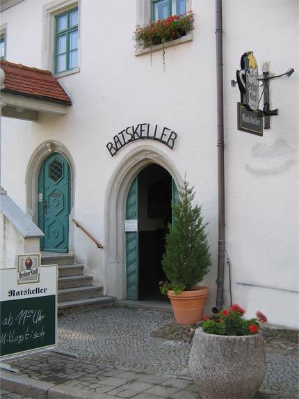 Ratskeller Kemberg front
