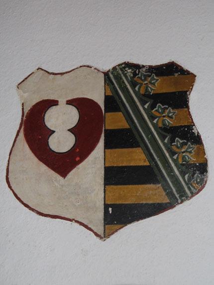 Wappen aus Holz