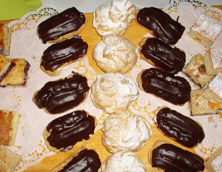 Buffet Ratskeller Kemberg Kuchen