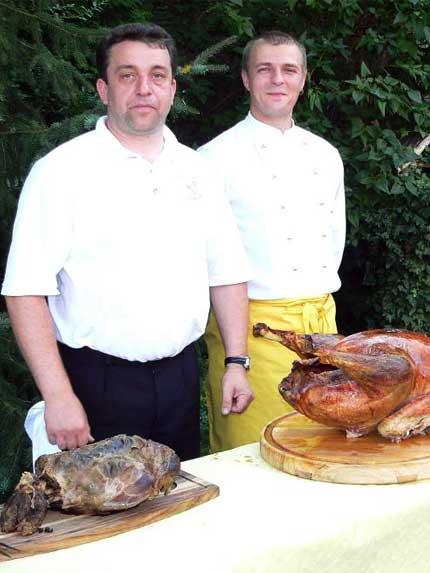 Team Ratskeller unsere Köche sorgen für das Essen auf Ihren Feiern