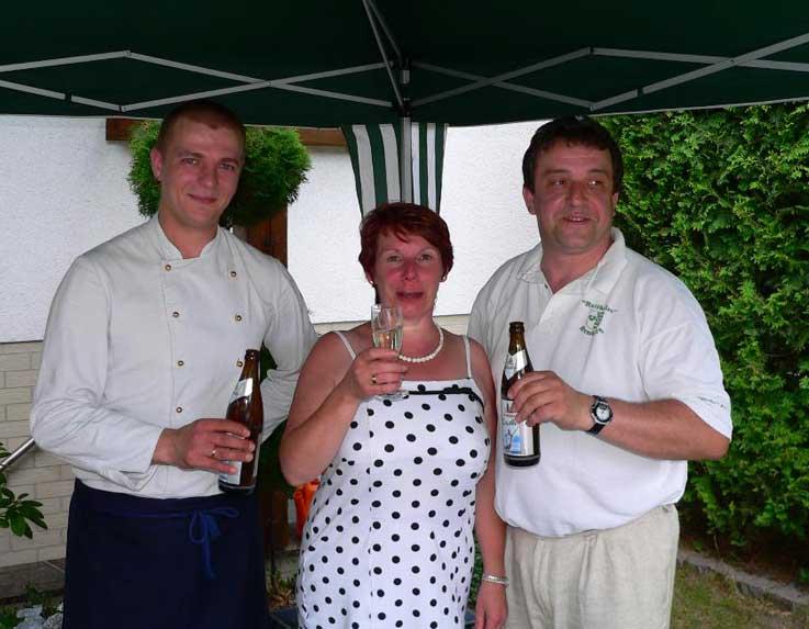Feiern im Ratskeller Kemberg - Team Ratskeller Kemberg